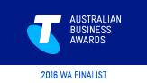 Telstra Australian Business Awards 2016 WA Finalist